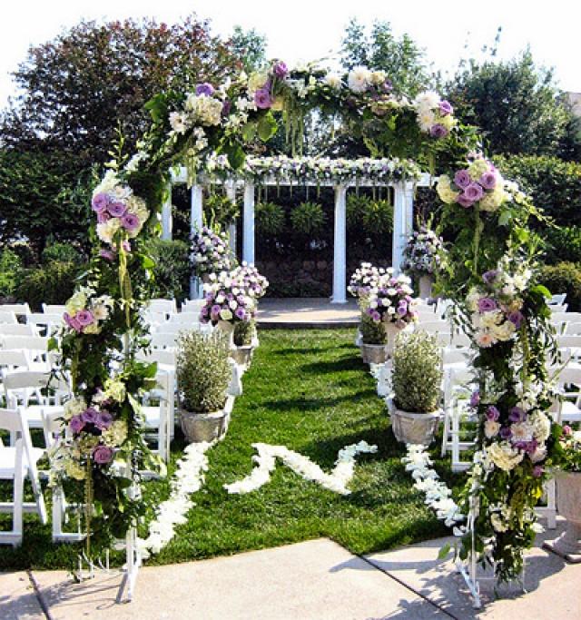 Solare garden wedding