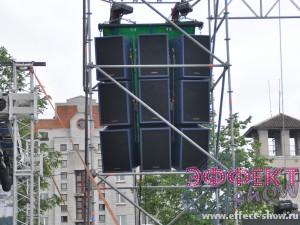 Аренда комплекта звука на 30 КВт Turbosound