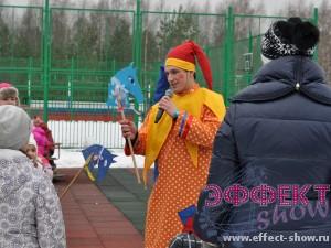 Праздник масленицы в Санкт-Петербурге