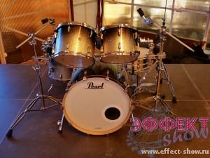 Прокат барабанной установки Pearl Masters Custom