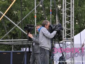 Видеооператоры на празднике