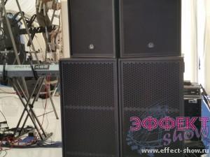 Аренда комплекта звуковой аппаратуры 10Квт