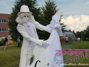 Свадебные живые скульптуры