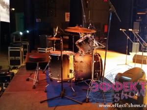 Аренда барабанной установки