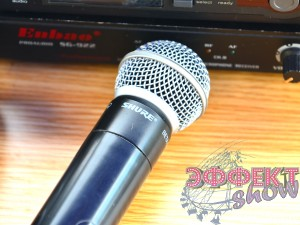 Радиомикрофон shure в аренду