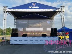Сцена для праздника 6 на 8 метров Ground