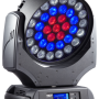 Прожектор  Moving Head. 37 х 10W RGBW